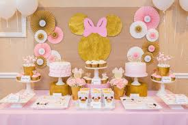 minnie mouse birthday gold minnie mouse celebration