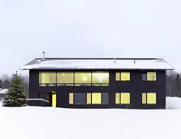 modern homes plans contemporary chalet house plans canadian winter