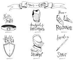 armor of god illustration 8 5x11 download