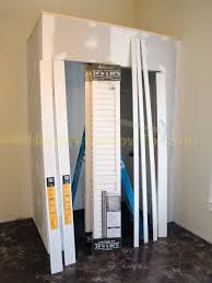 Closet Door Opening Size by How To Finish A Basement Bedroom