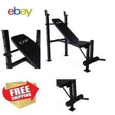 Olympic Bench Set With Weights Olympic Weight Bench Set Cap Barbell Deluxe With 100lb Weights