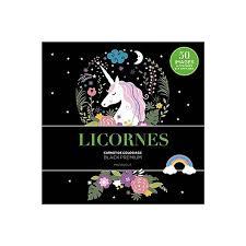 Licornes  carnet de coloriage  9782501130134  Espace Culturel E