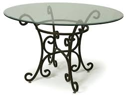 traditional round glass dining table traditional glass dining tables for decoration round glass top