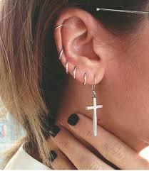 30 ear piercing ideas and piercing type from minimal piercing