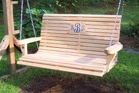 wooden swing standing fantastic ideas for wooden porch swings