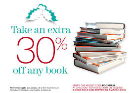 amazon book deals black friday amazon book deal 30 off any book with promo code bookdeal
