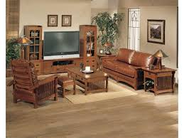 Mission Style Living Room Set Mission Style Accent Chairs Amish Traditional Furniture Modern