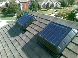 installing a gable vent fan fascinating solar powered attic fan installation instructions for