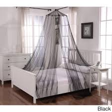 Canopy Net For Bed by Oasis Round Hoop Sheer Bed Canopy Walmart Com