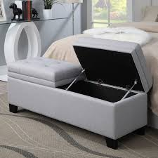 Bedroom Storage Bench Beautiful Upholstered Storage Benches For Bedroom Best 25 Storage