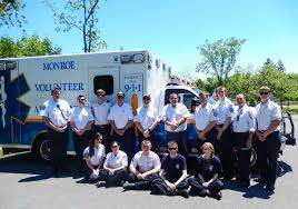 cpr monroe volunteer ambulance
