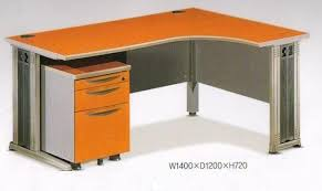 Office Table L Wood 1 4 M L Shaped Office Table China Mainland Furniture