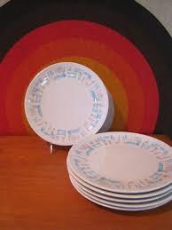 modern kitchen plates royal china blue heaven dinner plates set of 6 atomic