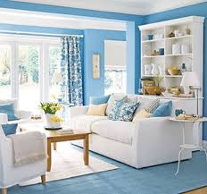 How to Decorate a House with Blue & White