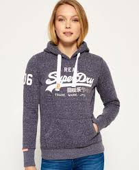 superdry shoes sale womens superdry vintage logo duo hoodie