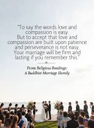 wedding quotes buddhist 44 ceremony readings you ll buddhists weddings and wedding