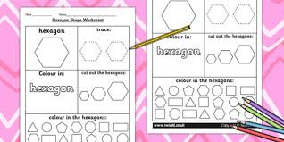 shape worksheet shapes 2d shapes tracing numeracy