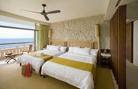 Tropical Home Decor Fabric Beautiful Tropical Bedroom With Balcony Interior Designs Decorate