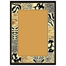 animal prints border area rug 226521 rugs at sportsman u0027s guide