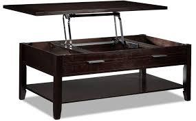 Espresso Side Table Coffee Tables Attractive Espresso Table With Storage Regard To New
