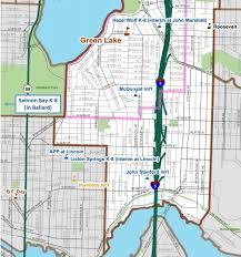 seattle map green lake elementary open enrollment at seattle schools wallyhood