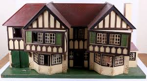 Tudor Design by A Large Tudor Design Tri Ang Toys Dolls House Half Timbered