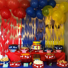 Dog Themed Home Decor Paw Patrol Birthday Party With Dog Bowls And Dog Themed Food