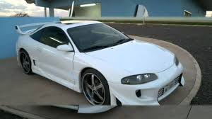 eclipse mitsubishi 1998 eclipse custom tuning body kit rodas aro 20 turbo youtube