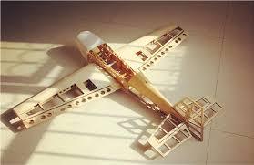 new design balsa wood airplane kits extra 330 kits combo with