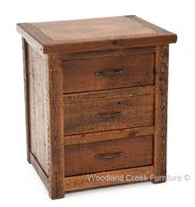 Natural Wood Nightstands Barnwood End Tables U0026 Nightstands Rustic Bedroom Furnishings