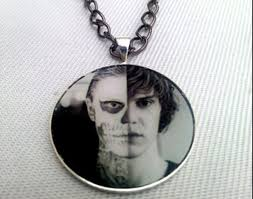 jewels american horror story tate langdon necklace wheretoget