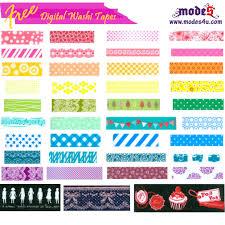 washi tape free digital washi tape from modes4u modes blog