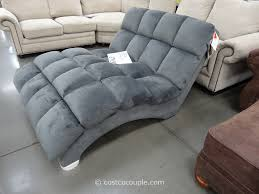 Indoor Chaise Lounge Chair Decor Classy Oversized Chaise Lounge Indoor In Dark Brown Leather