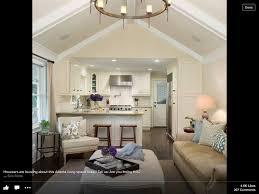 kitchen family room combo living space inspiration pinterest