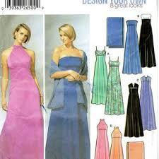 shop formal sewing patterns on wanelo