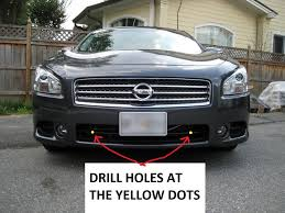 nissan maxima xenon lights philips daylight 4 daytime running lights drl with auto dim