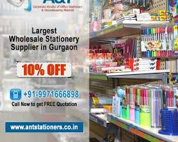 wholesale stationery wholesale stationery supplier in gurgaon a t stationers rs