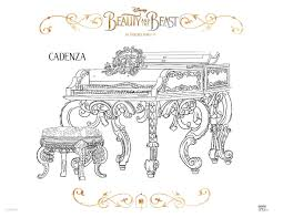 20 free printable beauty and the beast 2017 coloring pages