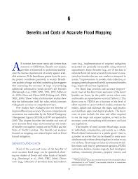 Information Mapping 6 Benefits And Costs Of Accurate Flood Mapping Mapping The Zone
