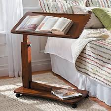 Bed Side Desk Adjustable Table Watch Movies Movie And Bedrooms