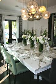 innovative this dining room with its gorgeous chandelier and