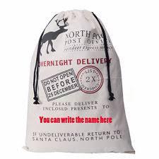 2016 pop canvas merry santa sacks gift