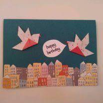 origami origami easy origami birthday card origami easy origami