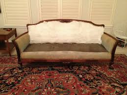 What Does Queen Anne Furniture Look Like Re Upholstering An Antique Sofa The Diy Way U2013 Remodelicious