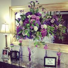 wedding wednesday purple flowers flirty fleurs the florist