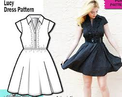 pattern dress pdf sewing patterns and fashion services by wildlilyandlace on etsy