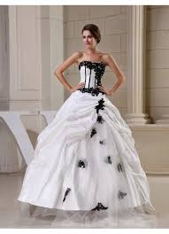 black and white wedding dresses buy white and black wedding dresses online honeybuy page 1