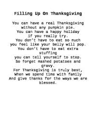 thanksgiving shared reading poem by carrie kot tpt