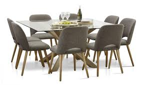 Glass Top Square Dining Table 9 Square Dining Tables And Chairs Focus On Furniture