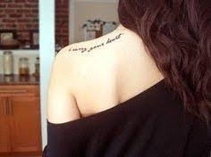 shoulder quote shortlist ta ta tatt it up